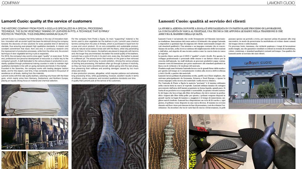 artsutoria otto2019 cover - Lamonti Cuoio